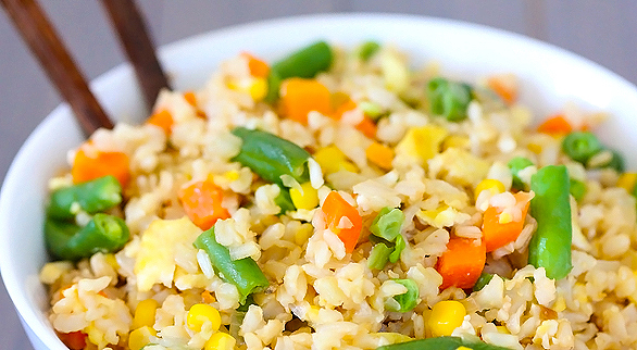 Vegetable Fried Rice.