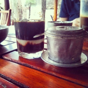 Chocolate Coffee at Mountain River Cafe