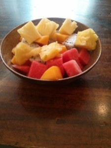 Tropical Fruit Salad!